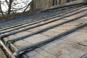 The lead stolen will leave Navenby church with a bill of up to �40,000 to repair. EMN-191103-180849001