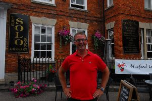 Marcus Hrubesch of the Solo Bar in Sleaford. EMN-190803-105801001