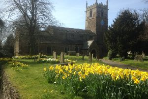 Wolds World: daffodils in Caistor'Picture by Peter Thompson EMN-190803-092501001