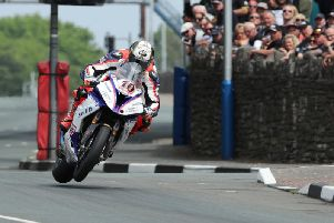 Peter Hickman on the Smiths Racing BMW.