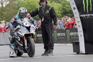 Michael Dunlop will start from number six at this year's Isle of Man TT races.
