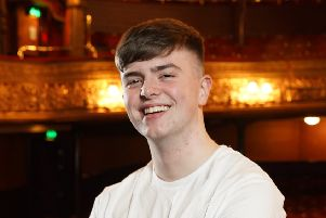 Tyrone student Ronan Johnson who has been chosen to play a lead role in the Grand Opera House's Summer Youth Production.'Photo by Aaron McCracken