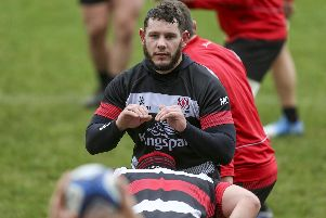 Ulster's Marcell Coetzee is available to face The Kings