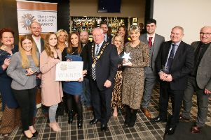Businesses from across Glengormley gathered at Knags Function Suite on March 15 for this year's Glengormley Business Awards.