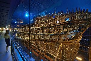 The Mary Rose has been named Britain's best buried treasure