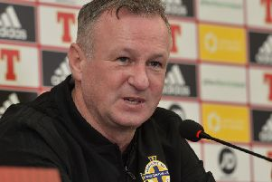 Northern Ireland Manager Michael O'Neill.'Photo Colm Lenaghan/Pacemaker Press
