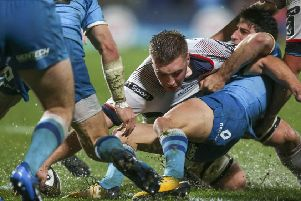 Marcus Rea who will captain the Ulster 'A' team against Connacht Eagles in the Cara Cup in Boston