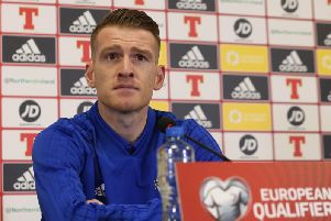 Northern Ireland captain Steven Davis.