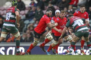 Marcell Coetzee on the charge