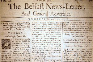 The Belfast News Letter of March 13 1738 (which is March 24 1739 in the modern calendar)