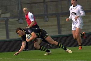 Tom Emery scored the Wanderers' opening try (pictures: Dave Ikin)