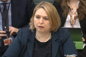 Karen Bradley faced robust questioning at the Northern Ireland Affairs Committee