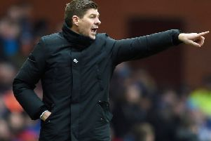Rangers manager Steven Gerrard. Pic by PA.