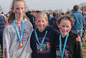 Lizzie Garner, Maddy Pearce & Alice OLeary