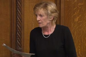 Lady Hermon speaking in the Commons on Wednesday night ahead of voting for the bill