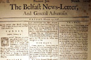 The Belfast News Letter of March 23 1738 (which is April 3 1739 in the modern calendar)