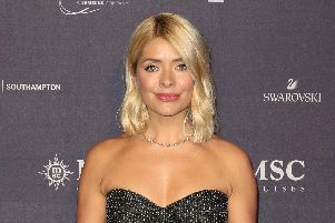 "Holly Willoughby who has said she avoids discussing her weight and what she eats because it is ""not helpful"" for other women"
