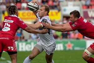 Ulster utility back Will Addison.
