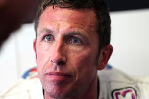 Steve Mercer from Maidstone in Kent, who was seriously injured in a head-on collision at the Isle of Man TT in 2018.