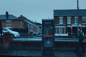 Tates Avenue/Donegall Ave in Belfast, helpfully called 'Tates Avenue' in Line of Duty