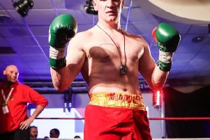 Derry boxer, Sean McGlinchey is set for a return to the ring next month.