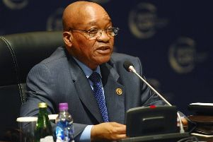 Jacob Zuma, who was president of South Africa until last year