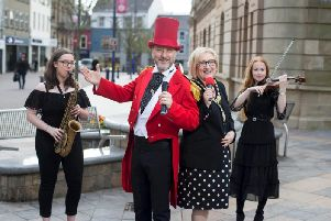 The Rhythm of the Bann Festival takes place throughout Coleraine this April 26 and 27