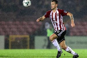 Ally Gilchrist has been in top form for Derry City this season.
