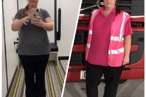 Zara, before and after her weight loss EMN-190419-145655001