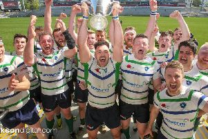 Grosvenor lift the McCrea Cup