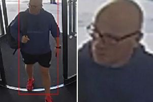 Police want to speak to this man in connection with a fraud investigation