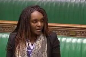 Fiona Onasanya in the House of Commons on a previous occasion
