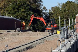 Flashback to last September when the Cottingham Road bridge was closed