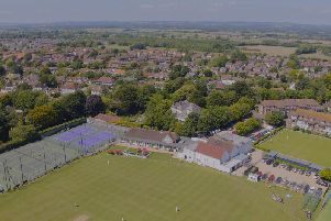 Middleton Sports Club from the air
