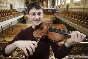 Samuel Kane gets to grips with the precious Milton Violin