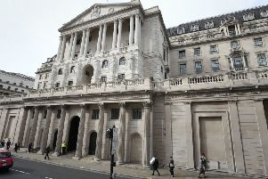 The Bank expects a Q1 growth spurt thanks to Brexit stockpiling, but cautioned the boost will prove to be temporary as uncertainty reigns