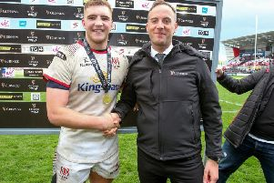 Guinness man of the match against Leinster was Ulster's Marcus Rea