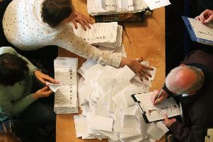 Counting has begun in Northern Ireland/ (Photo: Presseye)
