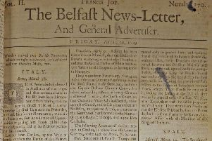 The Belfast News Letter of April 20 1739 (May 1 in the modern calendar)