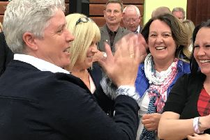 The DUP's first openly gay candidate, Alison Bennington