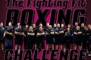 The charity boxing event takes place tonight (Friday, May 10)
