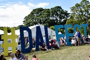 Last years crowd pictured enjoying the family-led Dalriada Festival