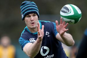 Leinster and Ireland's Johnny Sexton