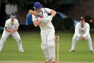 Pete Morgan cracked 104 not out for Bourne at Bracebridge Heath.
