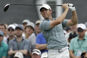 Northern Ireland golfer Rory McIlroy has maintained his position as one of the richest sports stars in the British Isles. (AP Photo/Marcio Jose Sanchez)