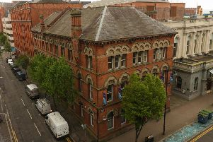 28 Bedford Street was built as a linen warehouse in the late 1800s and headquarters for Bryson since the 1940s