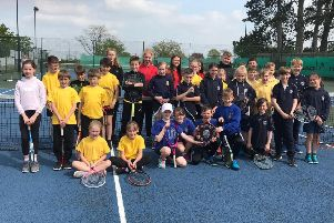 The Melton and Belvoir primary school aces who battled it out on the tennis court EMN-190516-100805002