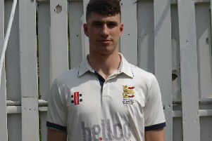Adam Pye suffered a back injury in Hastings Priory's defeat against Billingshurst last weekend