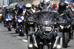 Bikes arive for the North West 200 via the Stena Line into Belfast