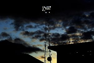 The future of Fratton Park's floodlights was decided today. Picture: Bryn Lennon/Getty Images
